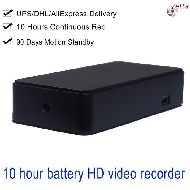 Zetta z15 przenośna mini kamera hd długi czas czuwania z 10-godzinną baterią dla bezpieczeństwa w domu z detekcją ruchu