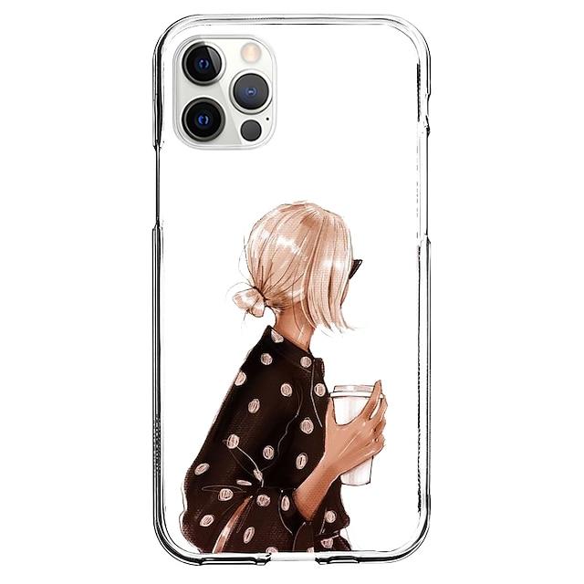 Luova Luonteet puhelin Asia Sillä Apple iPhone 13 12 Pro Max 11 X XR XS Max iphone 7/8 iphone 7Plus / 8Plus Ainutlaatuinen muotoilu Suojakotelo Kuvio Takakuori TPU