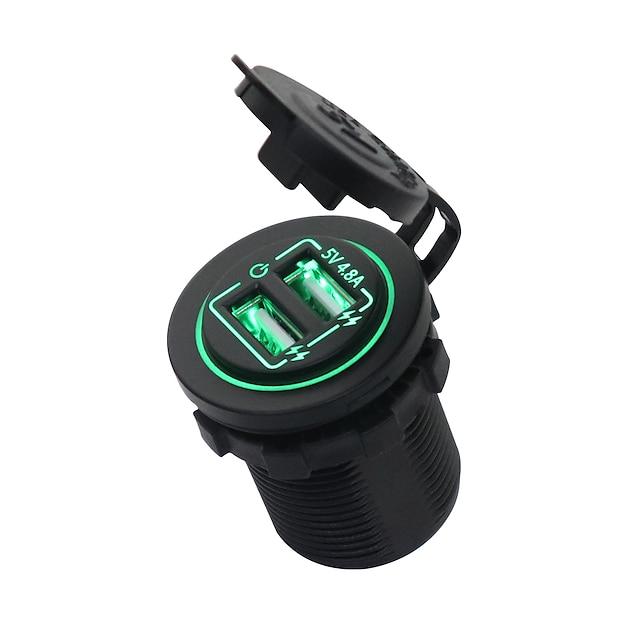 Sorties Multiples / Port USB / Multiport USB 2 Ports USB Chargeur Seulement 5 V / 4.8 A