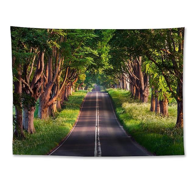 zidna tapiserija art dekor deka zavjesa koja visi dom spavaća soba dnevni boravak poliestersko drvo