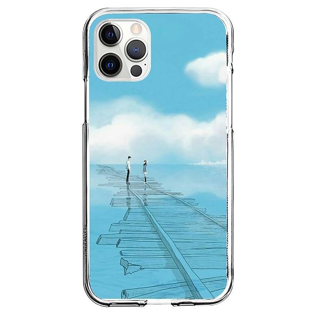 Kreativ Personen Telefon Fall Zum Apple iPhone 12 iPhone 11 iPhone 12 Pro max Einzigartiges Design Schutzhülle Muster Rückseite TPU
