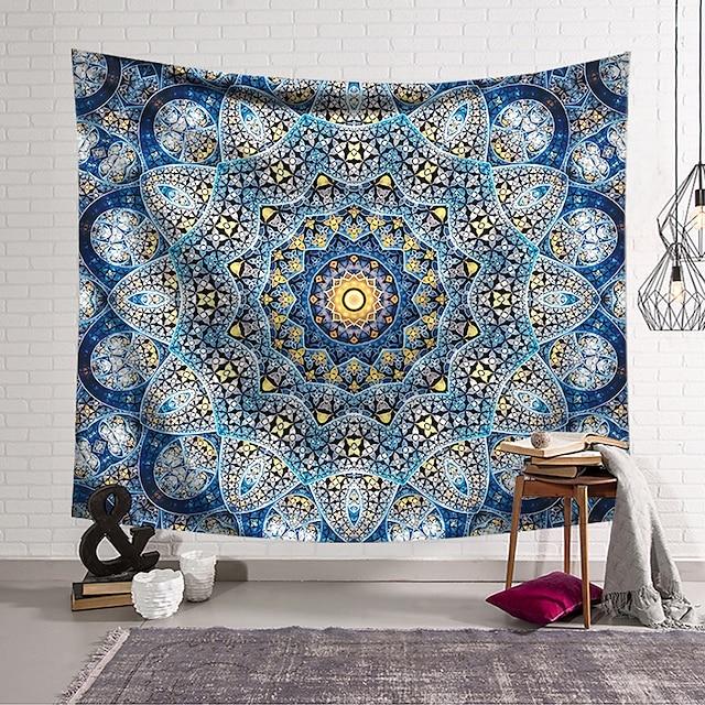 Mandala böhmischen Wandteppich Kunstdekor Decke Vorhang hängende Schlafzimmer Wohnzimmer Dekoration und Muster und böhmische