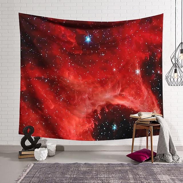 Wall Tapestry Art Decor Blanket Curtain Hanging Home Bedroom Living Room Starry Sky Novelty  Fantasy