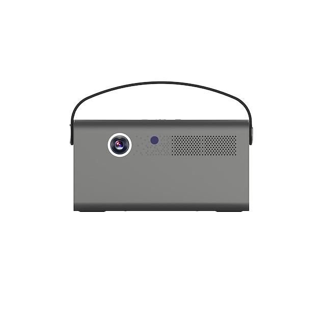 proiector toumei v7 3d dlp inteligent android tv 9.0 proiector inteligent wifi bluetooth proiector portabil 4d ± 45 ° corecție trapez 70.000 ore proiector de film cu netflix youtube