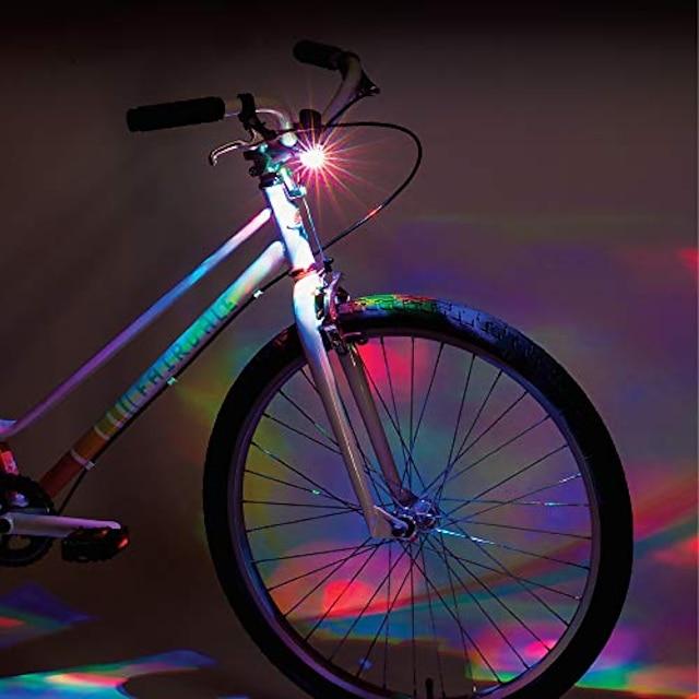 ดิสโก้แฮนด์จักรยานไฟสีดำ