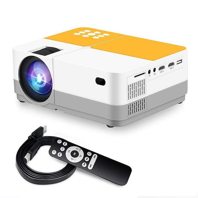 h3 smart projektor wifi projektor videoprojektor 3600 lumen native 720p lcd mini projektor 180