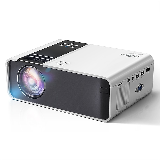 HD Mini Projector TD90 Native 1280 x 720P LED Android WiFi Projector Video Home Cinema 3D Smart Movie Game Projector