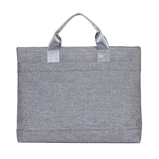 Unisex Bags Nylon Top Handle Bag Zipper Solid Color Daily Office & Career Handbags Black Blushing Pink Khaki Gray