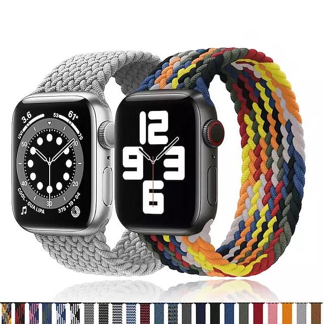Smart Watch Band για Apple  iWatch 1 pcs Τυπωμένο βραχιόλι Νάιλον Αντικατάσταση Λουράκι Καρπού για Apple Watch  6 / SE / 5/4/3/2/1