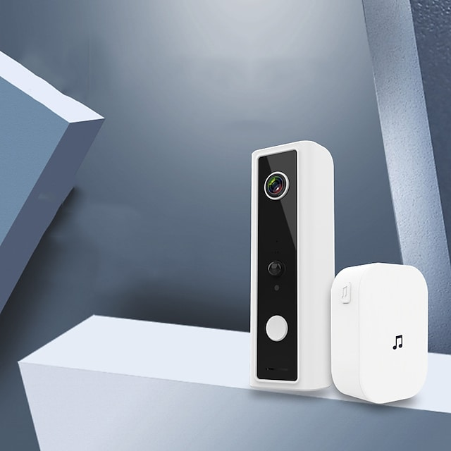Wireless No Screen(output by APP) Hands-free / Telephone One to One video doorphone