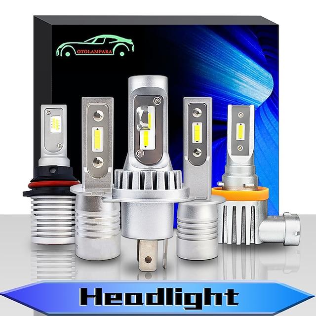 OTOLAMPARA Automatique LED Lampe Frontale Ampoules électriques 9000 lm CSP 55 W 2 Pour Volvo / Volkswagen / Toyota Mazda3 / Mazda6 / fleuve Toutes les Années 2 pièces