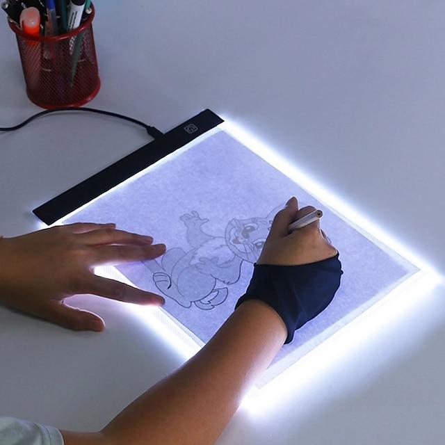 ultra tynd a4 a5 ledet lyspude kunstner lysboks bord sporing tegnebræt diamant maleri broderi værktøjer
