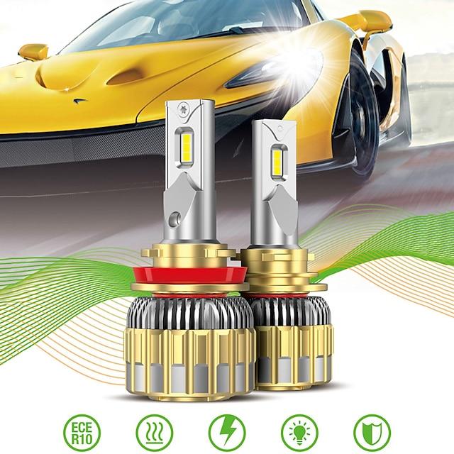 OTOLAMPARA Automatique LED Lampe Frontale / Voiture Canbus Light H13 / 9007 / H7 Ampoules électriques 11000 lm LED Intégrée 120 W 2 Pour Volkswagen / Toyota / Nissan Voyou / Silverado / CR-V 2018