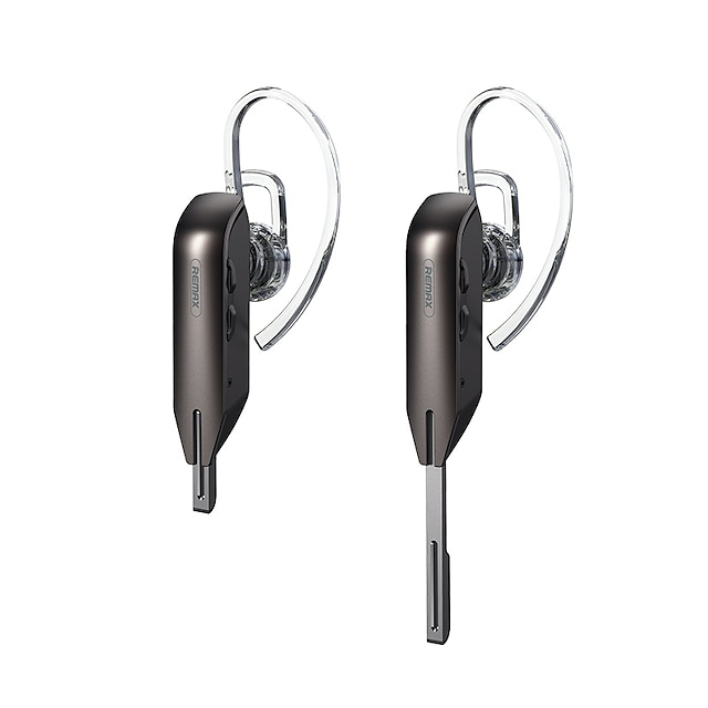 Remax RB-T38 Hands Free Telephone Driving Headset Bluetooth5.0 Stereo HIFI Voice Control Hey Siri for Apple Samsung Huawei Xiaomi MI  Mobile Phone