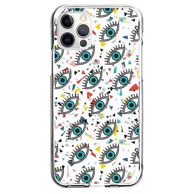 Kreativan Oko telefon Slučaj Za Apple iPhone 12 iPhone 11 iPhone 12 Pro Max Jedinstveni dizajn Zaštitna futrola Uzorak Stražnja maska TPU