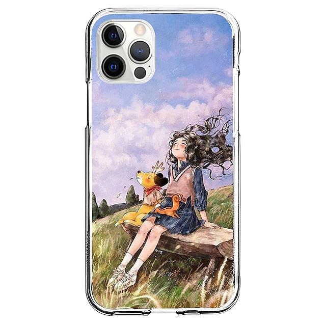 Creativ Personaje telefon Caz Pentru Apple iPhone 12 iPhone 11 iPhone 12 Pro Max Design Unic Carcasă protectoare Model Capac Spate TPU