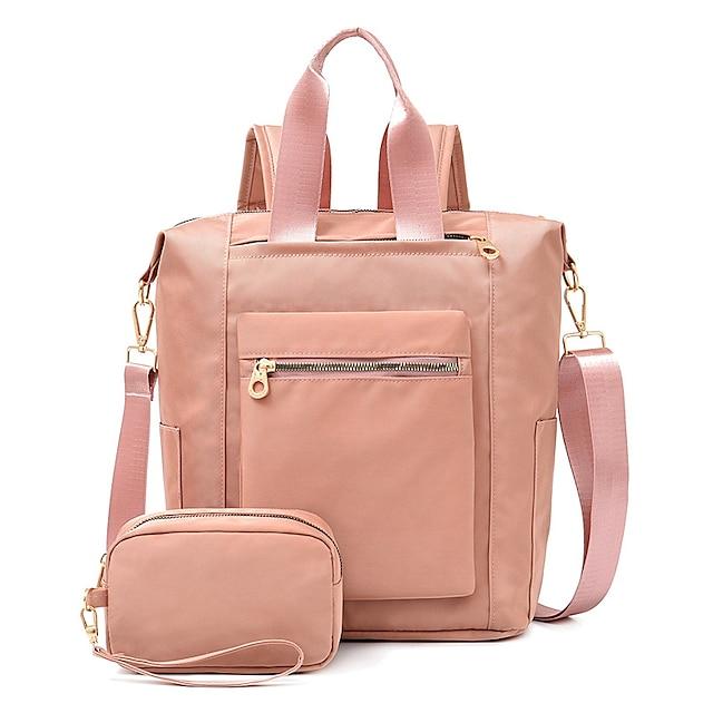 สำหรับผู้หญิง กระเป๋าต่างๆ ชุดกระเป๋า ทุกวัน สำนักงานและอาชีพ กระเป๋า สีดำ สีม่วง สีแดงชมพู น้ำเงินเข้ม
