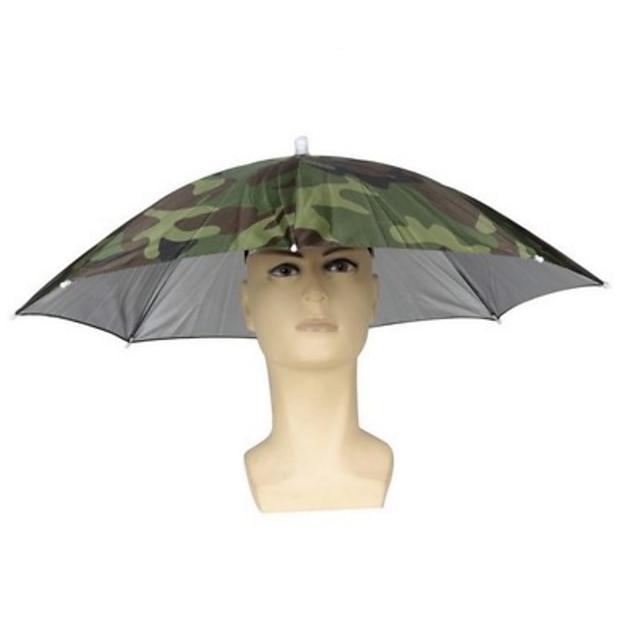 Casquette de pêche en plein air parapluie pliable chapeau de pêche chapeau randonnée camping plage chapeaux pare-soleil ombre parapluie