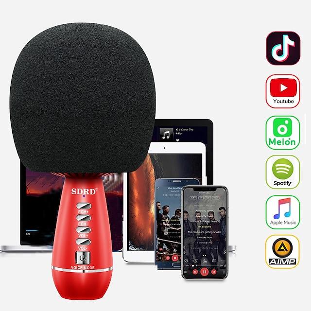 SD-105 Sin Cable Micrófono Portátil Para Teléfono Móvil
