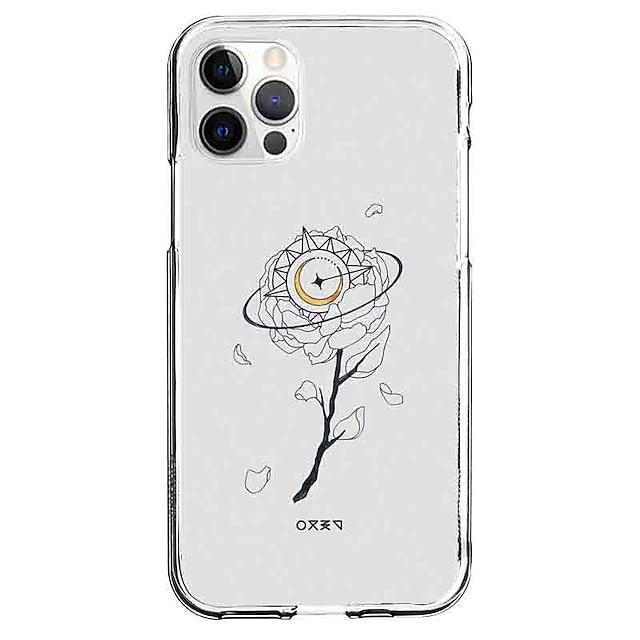 Креатив случай За яблоко iPhone 12 iPhone 11 iPhone 12 Pro Max Уникальный дизайн Защитный чехол С узором Кейс на заднюю панель ТПУ