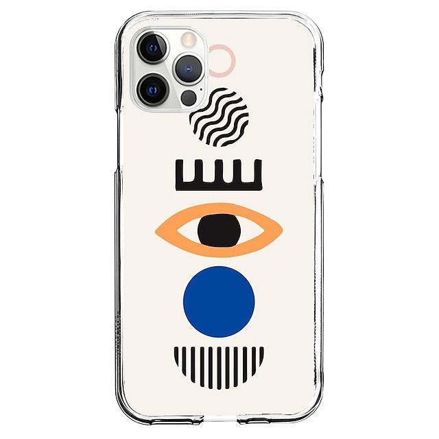 Креатив телефон случай За Apple iPhone 12 iPhone 11 iPhone 12 Pro Max Уникальный дизайн Защитный чехол С узором Кейс на заднюю панель ТПУ