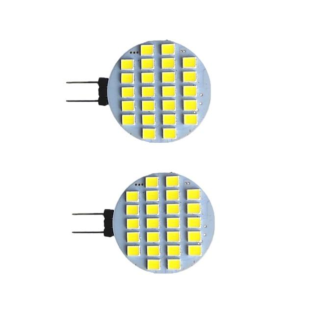 2pcs 2 W LED lumières bi-broches 200 lm G4 6 perles LED SMD 5730 blanc chaud blanc naturel blanc 9-30 v