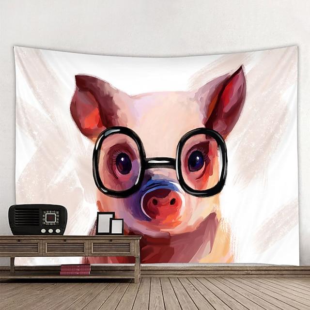 tapiserie de perete decor de artă pătură perdea agățat acasă dormitor dormitor decor și modern și animal