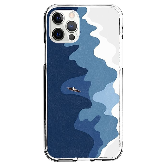Creative Nautical Case For Apple iPhone 12 iPhone 11 iPhone 12 Pro Max Unique Design Protective Case Pattern Back Cover TPU