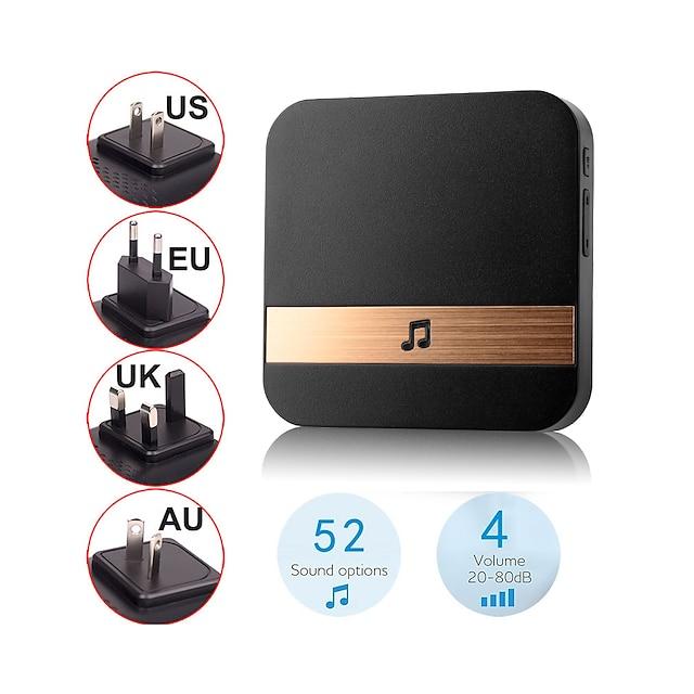 alarmest tuya 1080p smart camera ring doorbell wifi intercom application motion detector and night vision security powered by tuya