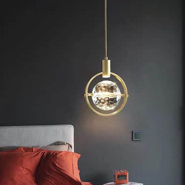 20 cm Lantern Desgin Pendant Light Copper Brass LED Modern 110-120V 220-240V
