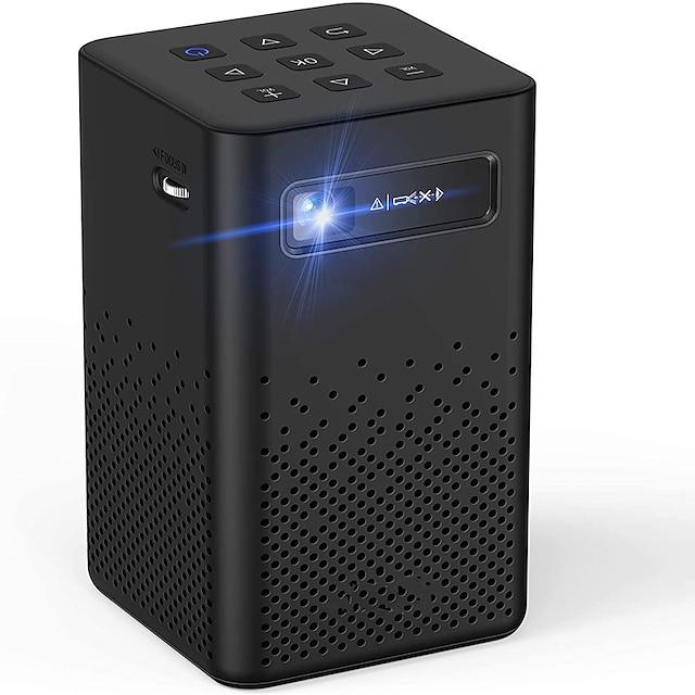 toumei C900 جهاز عرض صغير LED جهاز إسقاط 100-1999 lm ذكري المظهر / أندرويد 9.0 جهاز عرض WIFI