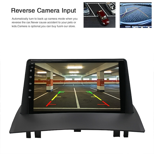 Car Dvd Suitable For 04-08 Renault Megana 2 Android Navigation Integrated Machine Android Mp5 Player Gps Renault