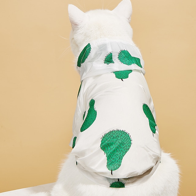 Psy T-shirt Kombinezon chroniący przed promieniowaniem UV Owoc Podstawowy Godny podziwu Śłodkie Na co dzień Codzienne Ubrania dla psów Ubrania dla szczeniąt Stroje dla psów Oddychający Tęczowy Żółty