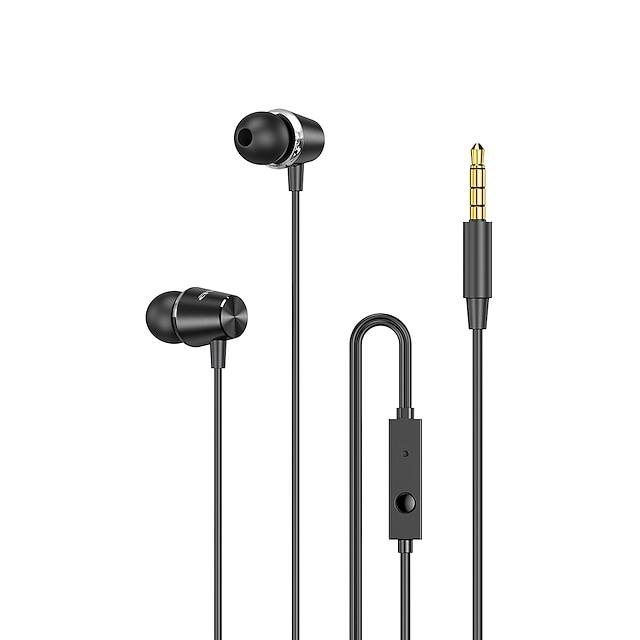AWEI PC-2 Auricolari in-ear cablato Jack audio da 3,5 mm PS4 PS5 XBOX Stereo Dotato di microfono HIFI per Apple Samsung Huawei Xiaomi MI Cellulare
