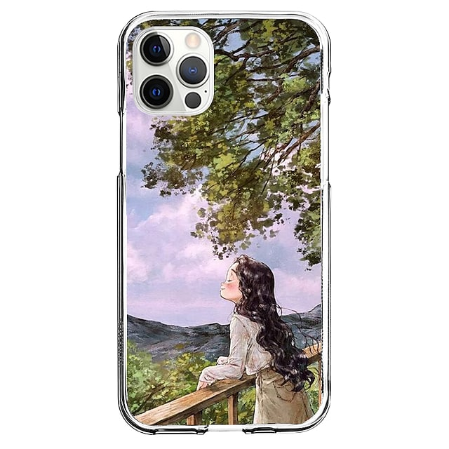 창의적 캐릭터 전화 케이스 에 대한 Apple 아이폰 13 12 프로 맥스 11 X XR XS 맥스 아이폰 12 미니 아이폰 7/8 독특한 디자인 보호 케이스 패턴 뒷면 커버 TPU