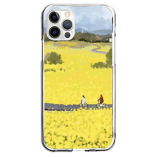 Kreatywne Sceneria telefon Walizka Dla Apple iPhone 12 iPhone 11 iPhone 12 Pro Max Unikalny design Ochronny pokrowiec Wzór Osłona tylna TPU