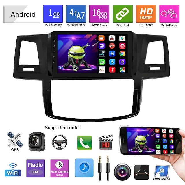 adequado para toyota hilux navegação android navegador all-in-one wi-fi car player hilux