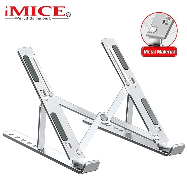 foldable laptop stand adjustable notebook stand portable laptop holder tablet stand computer support for macbook air pro ipad