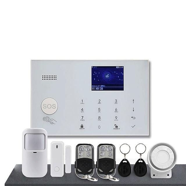 wifi + 4g double réseau alarme antivol home shop supermarché système d'alarme antivol