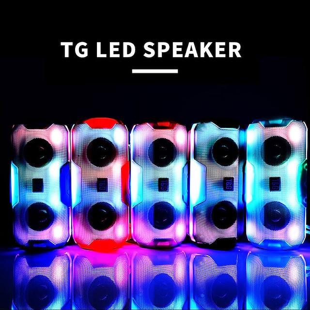 T&G TG143 Outdoor Speaker Wireless Bluetooth Portable Speaker For PC Laptop Mobile Phone