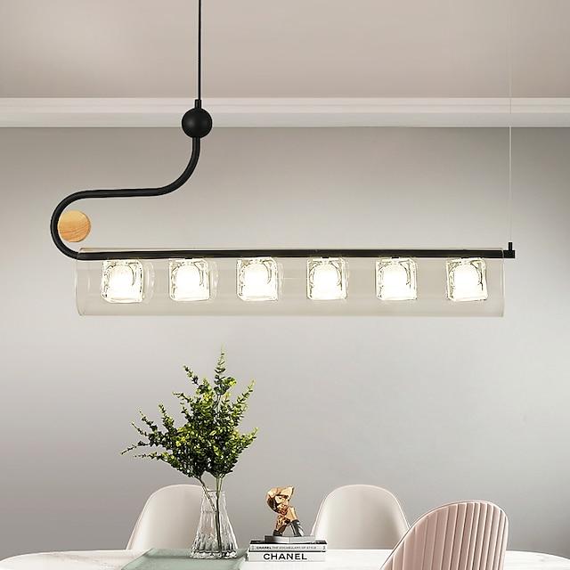 LED Pendant Light Modern Island Light Dining Room 87 cm Lantern Desgin Chandelier Metal Nordic Style 110-120V 220-240V