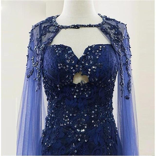 Sleeveless Elegant & Luxurious / Bridal Polyester Wedding / Party / Evening Women's Wrap With Crystals / Rhinestones
