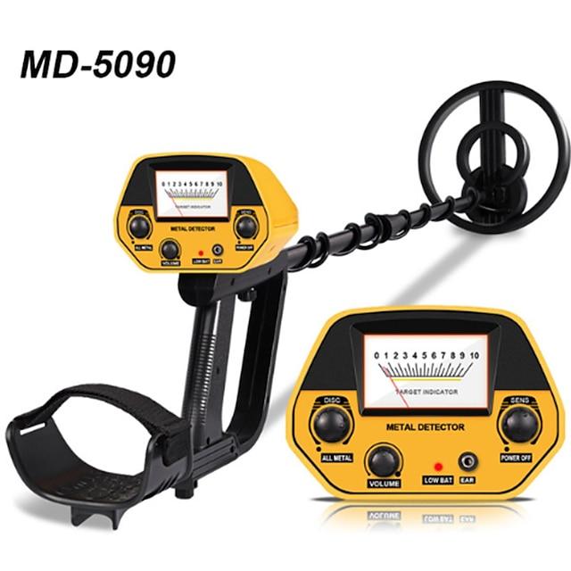 tianxun md-5090 detector de metal detector de ouro subterrâneo comprimento de metal caçador de tesouro ajustável detector de caçador portátil de alta precisão detector de metal md-5090 detector de