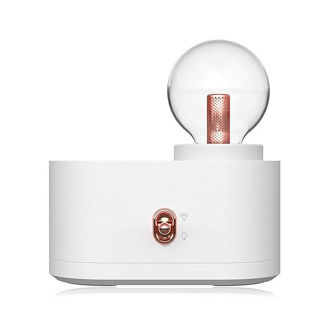 Chihiro Lampe Luftbefeuchter Haushalt USB drahtlose Glühbirne Smart Luftbefeuchter Lade tragbare kleine Wasser Nachfüllmesser