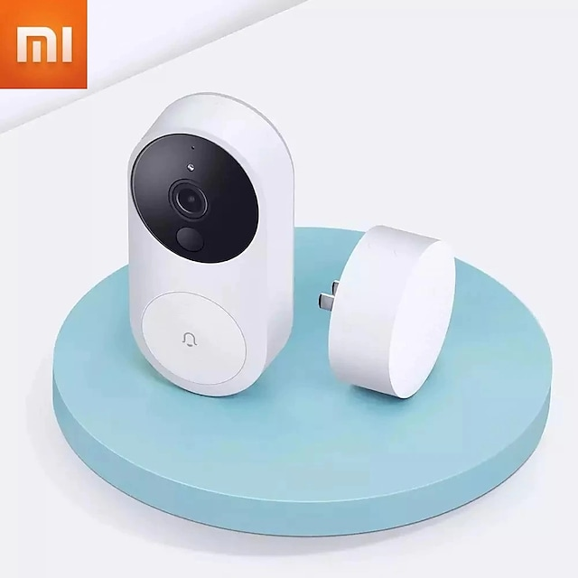 Xiaomi 1080 WiFi Smart Video Doorbell AI Face Identification Detection Wireless Intercom Camera Infrared Night Vision Doorbell