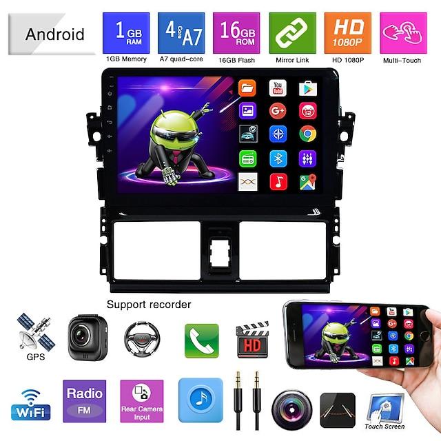 adatto per toyota vios navigazione android macchina integrata android mp5 player navigazione gps immagine inversa vios