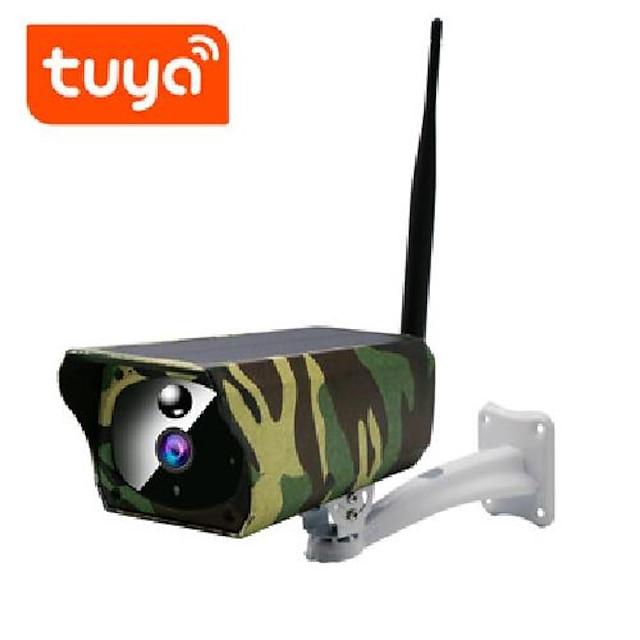 qzt ip67 กล้องรักษาความปลอดภัยพลังงานแสงอาทิตย์ wifi กล้องเฝ้าระวังกล้องวงจรปิดกลางแจ้ง full hd 1080p วิดีโอไร้สาย ptz wifi กล้อง ip แผงโซลาร์เซลล์