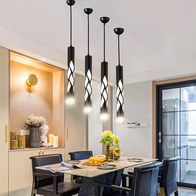 LED Pendant Light For Dining Room Living Room Bedside Light 4 cm Metal Painted Finishes 110-120V 220-240V