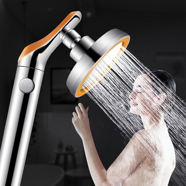 360 Degree Rotating Bathroom Pressurized Shower Head Replacement Household