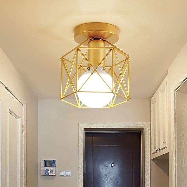 led מיני תקרת אור מרפסת אור מסדרון אור מודרני זהב 15 ס
